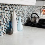 Glass Wall Tile Backsplash