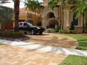 Travertine Outdoor Pavers