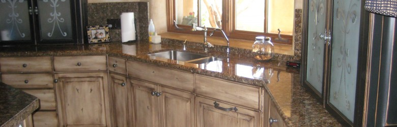 Granite Pre-fabricated Counter-Tops