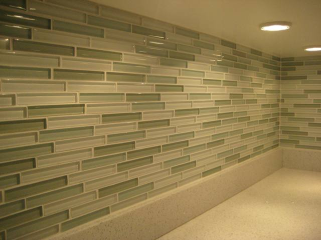 Metal & Glass Wall Tiles Backsplashes Mosaic Tile