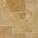 Travertine Mini Pattern Gold Meshed