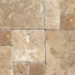 Travertine V. Pattern Antique Wallnut