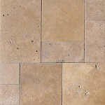 Travertine V. P. Noce Water Wavy