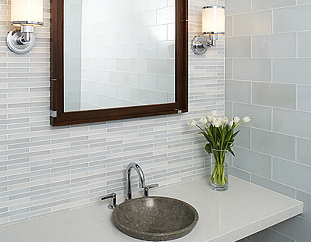 wall tiles - Bathroom Designs Using Glass Tiles