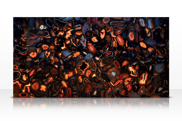 Wild Agate Black Backlit