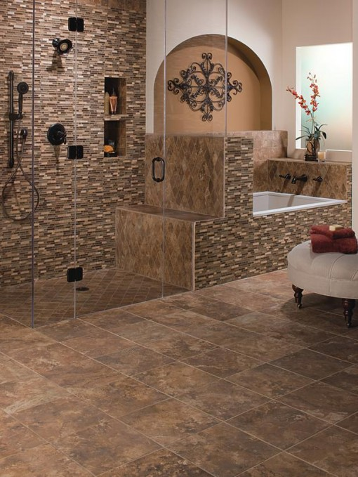 Bathroom Tile In Corners Amazing Bathroom Floor Tile Design Ideas
