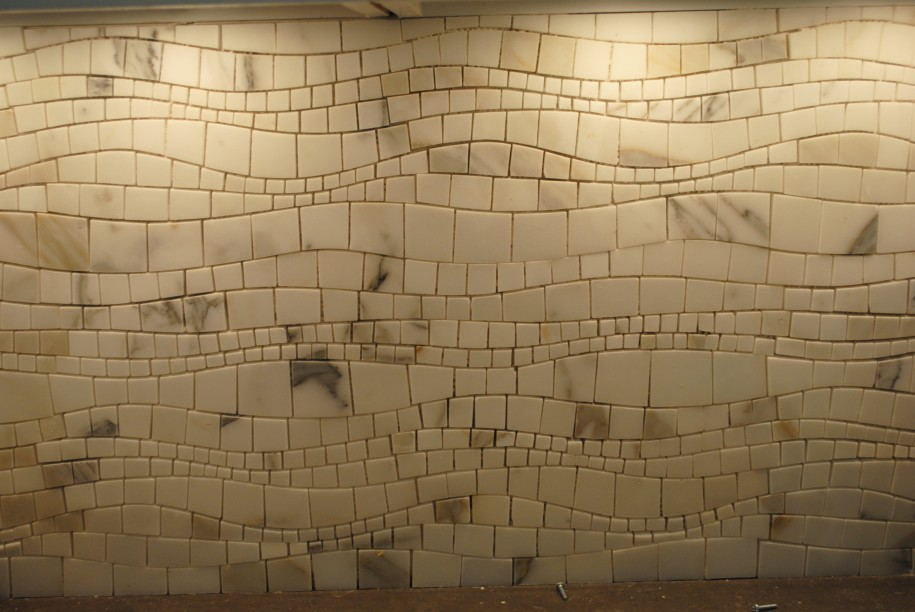 metal & glass wall tiles, backsplashes, mosaic tile