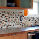 Round Glass Tile