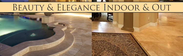 Travertine Patio & Floors